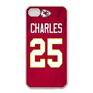 iPhone 4,4S Phone Case NFL Kansas City Chiefs Football Personalized Cover Cell Phone Cases GHQ845232