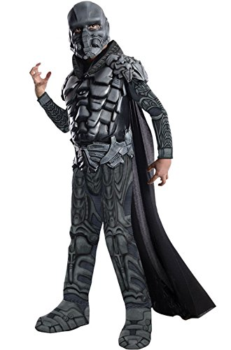 Mememall Fashion Man of Steel Deluxe General Zod Child Halloween Costume (Deluxe General Zod Child Costume)