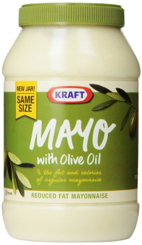 Kraft Mayonnaise with Olive Oil, 30-Ounce Jars (Pack of 2) (Olive Oil Spread)