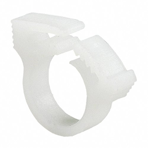 1000 pieces SNAPPER HOSE CLAMP WHITE