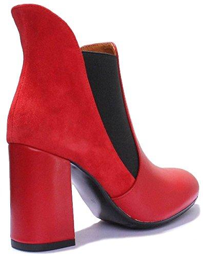 Isabella Donna Sandali Reece Justin Red 1wgx5pqa