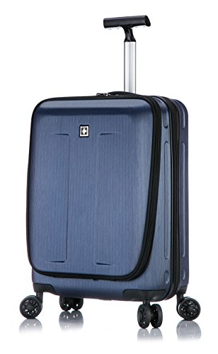 Fribourg Hardside 20'' Premium Carry On Spinner Luggage - Dark ()