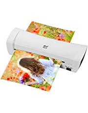 Decdeal New SL200 Laminator Machine Hot and Cold Laminating Machine Two Rollers A4 Size for Document Photo Picture Credit Card Home School Office Electronics Supplies