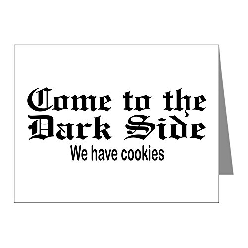 Price comparison product image X-Large Greeting Card (20 Pack) Come to the Dark Side We Have Cookies