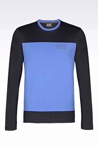 Emporio Armani EA7 JERSEY T-SHIRT (XXL, Blue)