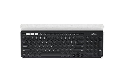 Logitech K780 Multi-Device Wireless Keyboard for Computer, Phone & Tablet, Speckles 920-008025(Certified Refurbished)