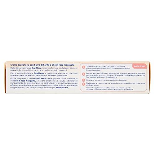 DEPILSOAP Crema Corporal Piel Delicada 150 Ml. Cuidado del cuerpo: Amazon.es: Salud y cuidado personal