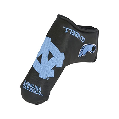 Team Effort North Carolina Tar Heels Black Blade Putter Cover ()