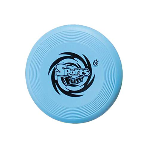 Finedayqi ❤ A New Spin On The Game of Catch Flying Disc Toy Interactive Game Toy (Blue) ()