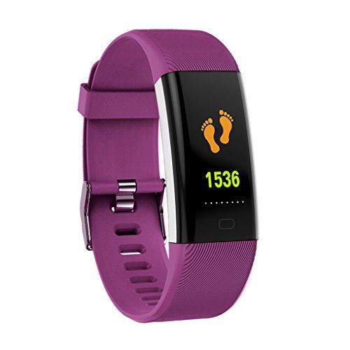 egalbest-ip68-waterproof-smart-band-color-screen-heart-rate-fitness-tracker-bracelet-blood-pressure-oxygen-tester-smartband-purple