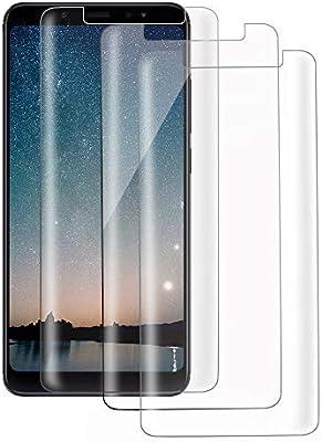 Xiaomi Redmi Note 5 Protector de Pantalla, Xiaomi Redmi Note 5 Cristal Templado Protector de Pantalla (3 Piezas) 9H Dureza, HD Clear Vidrio Templado Protector para Xiaomi Redmi Note 5: Amazon.es: Electrónica