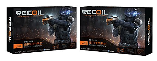 Recoil Laser Combat-RK-45 Spitfire 2-Pack Amazon Exclusive (Combat Players)