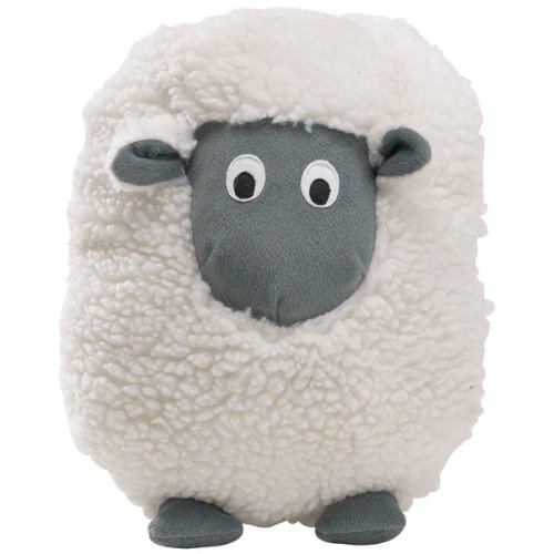 Zanies Plush Barnyard Grunters Dog Toy, Sheep, My Pet Supplies