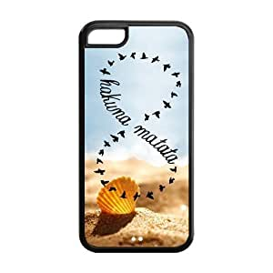 Phone Cases, Infinite Hard TPU Rubber Cover Case for iPhone 5 5s