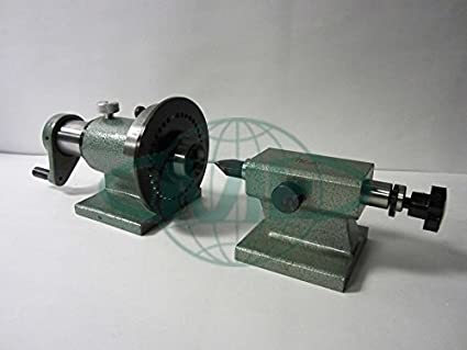 5C Spin Index Fixture w  Tailstock
