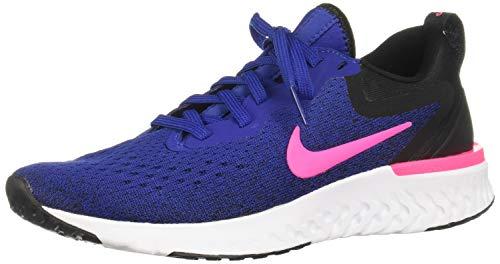 Sports Platform - Nike Womens Odyssey React Running Trainers AO9820 Sneakers Shoes (UK 4.5 US 7 EU 38, deep Royal Blue Pink Blast 403)