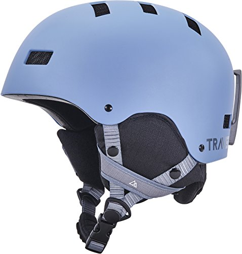 UPC 815725022448, Traverse Sports Dirus Convertible Ski & Snowboard/Bike & Helmet, Matte Haze, Large (59-63cm)