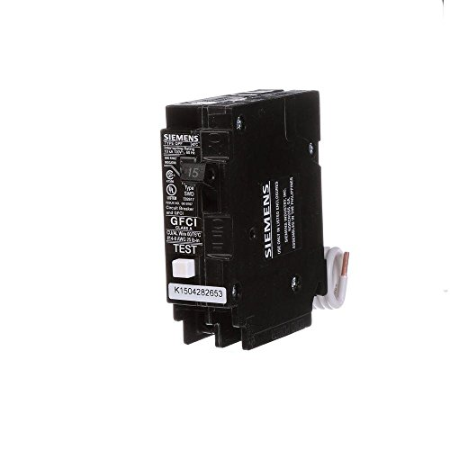 Siemens 15 Amp Single Pole Type QPF2 GFCI Circuit Breaker by Siemens (Image #1)