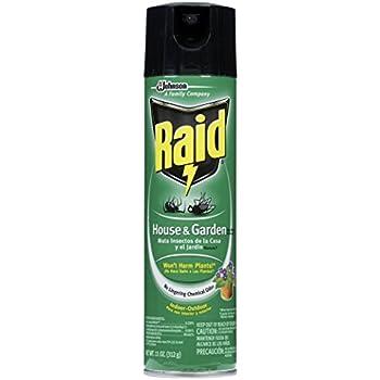 Raid 01672 House Garden Bug Killer Home Pest Repellents Garden Outdoor