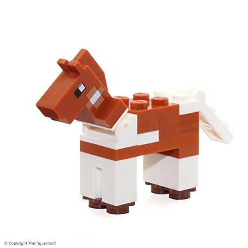 with LEGO Minecraft Minifigures design