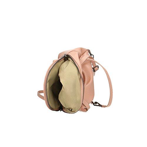sac cuir Rose 17x20x11 in en Sac véritable Made Aren dos Cm à femme petit Italy 0xw4T1qXg