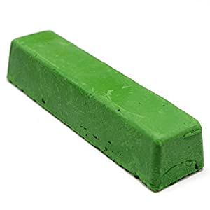 Green Chrome Oxide Compound for Strop, Buffing, and Polishing 6 oz. bar Rouge