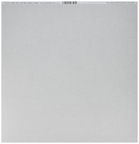 Bazzill BAZ302120 Cdstk 12x12 Bling Tiara Card (Bling 12x12 Bazzill Cardstock)