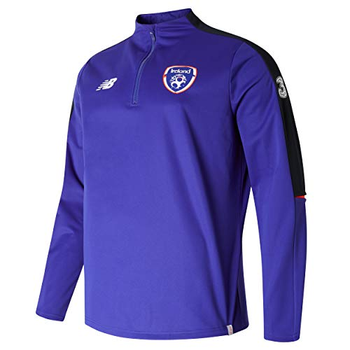 Carrolls Irish Gifts FAI Elite Training ¼ Zip Softshell Purple