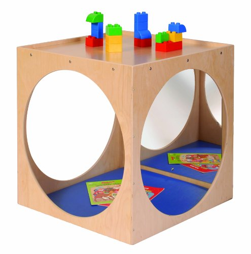 Steffy Wood Products Play Cube with Mirror