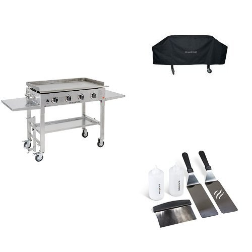 Blackstone 36″ Flat Top Gas Grill Griddle Station Stainless Steel