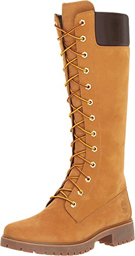 14 Inch Premium Boots - Timberland TB08633A231 Women's Premium 14-in WP Boot Wheat 6.5 M US