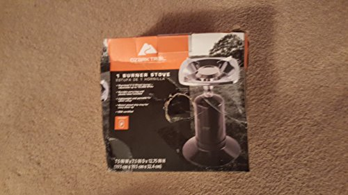 OZARK TRAIL ONE BURNER STOVE