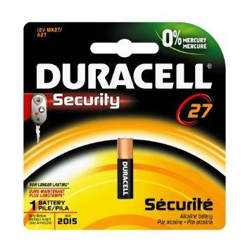 Duracell 52387 12V Keyless Battery
