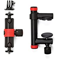 Joby Action Clamp & Locking Arm 500131, Black, Red
