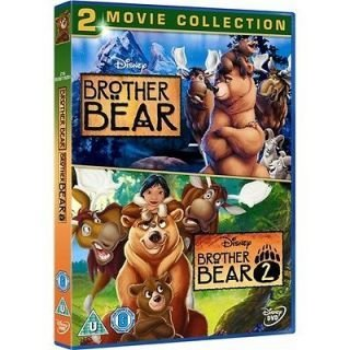 Walt Disney Brother Bear 2 Pack : Brother Bear Special Edition & Brother Bear 2 , Collection of Both Movies