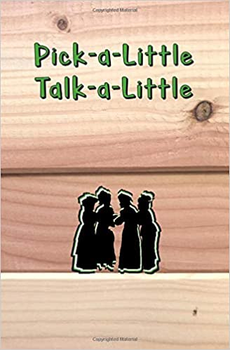 Pick A Little Talk A Little Blank Journal And Musical Theater Quote