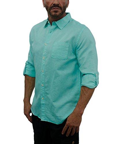 L8060 Long Sleve Shirt size large Aquamarine