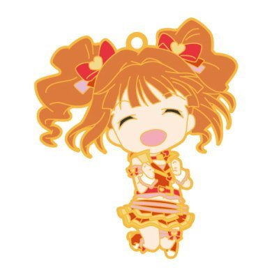 Nendoroid Plus rubber strap The Idolmaster One For All 765PRO ALLSTARS stage A [2. Takatsuki Yayoi] (single)