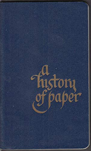 Fraser Paper Ltd NYC A History of Paper booklet 1964