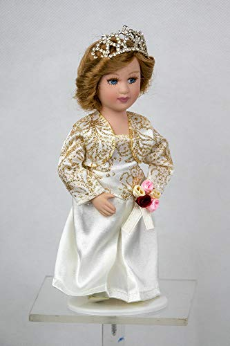 - Editions Atlas Collections Royal Doll Collection Princess Diana of Wales England Porcelain