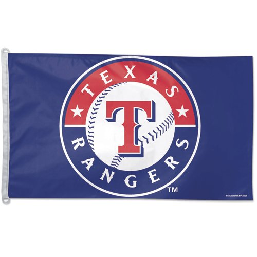 Texas Rangers Official MLB 3ftx5ft Banner Flag by Wincraft