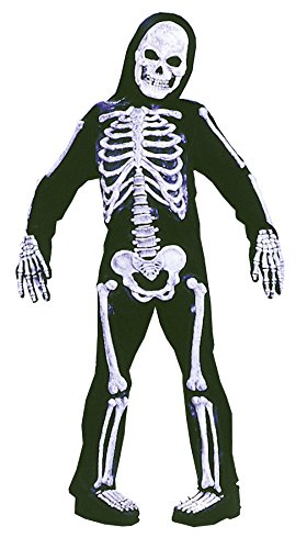 Big Boys' Skeleton Costume - M