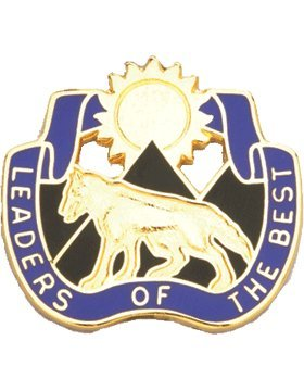 - South Dakota ARNG Element Joint Force HQ Unit Crest (Leaders of the Best)