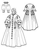 Simplicity 2887 Sew Pattern MISSES CIVIL WAR DRESS