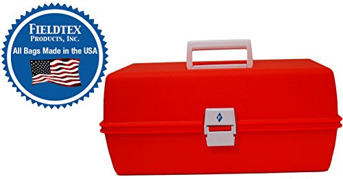 Orange Plastic Athletic Trainer's First Aid Kit (case w/Supplies) by E-Firstaidsupplies.com