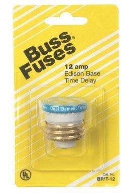 Fusetron Plug Fuse (bp/t-12) by Bussmann Electrical ()
