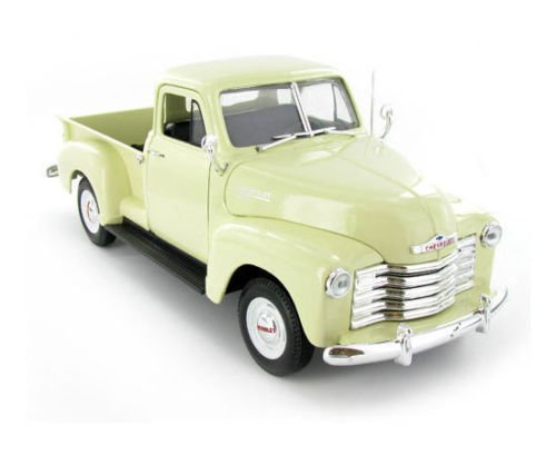 - 1:18 SCALE 1953 CHEVROLET 3100 PICKUP TRUCK DIECAST CAR MODEL 19836W-CRM BY WELLY