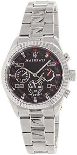 Maserati Men's Competizione R8853100012 Silver Stainless-Steel Quartz Watch