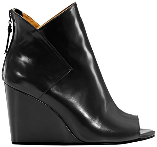 Castañer Oslo/Box Leather Damen Gummistiefel Black