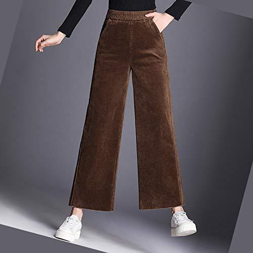 Pantalons Vrac Pantalon En Taille Kaki Evasé Grande Vld985 Valin Femme w5CxvSqWIn